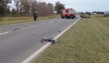 Imagen de Florense perdió la vida en un fuerte accidente en la Ruta 188
