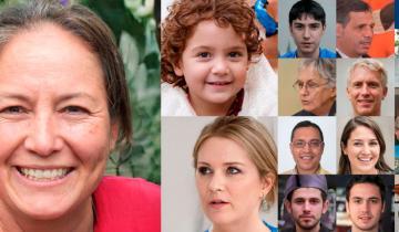Imagen de Todas las caras que se ven en esta foto son falsas: de qué se trata la guerra de robots
