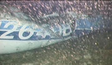 Imagen de Encontraron un cuerpo entre los restos del avión que transportaba a Emiliano Sala