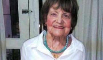 Imagen de Falleció Nelly Zuetta, una de las primeras maestras que tuvo General Lavalle