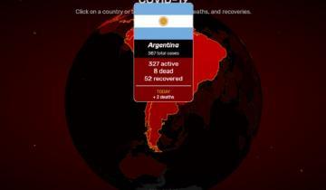 Imagen de Covidvisualizer: estadísticas del coronavirus en tiempo real