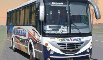 Imagen de Se restableció el servicio del la empresa de colectivos Montemar