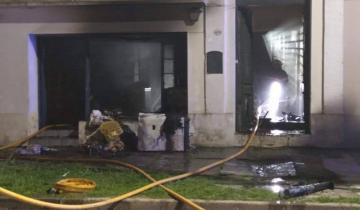 Imagen de Se incendió un laverap en Dolores