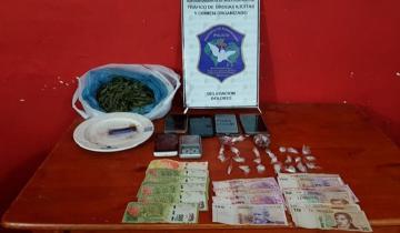 Imagen de Dos detenidos y secuestro de marihuana y ketamina en Villa Gesell