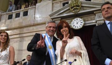 """Imagen de Alberto Fernández: """"No sé si Macri trabajaba acá, porque el aire no funciona"""""""