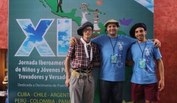 Imagen de Quién es el payador dolorense que volvió a representar al país en México