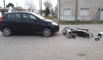 Imagen de Una mujer herida tras un accidente de tránsito en Dolores