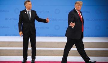 Imagen de Por qué Donald Trump dejó plantado a Mauricio Macri en el escenario del G20