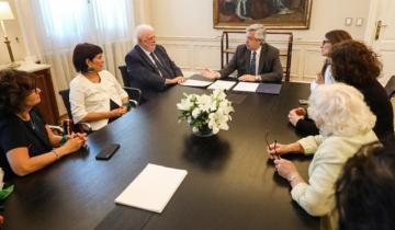 Imagen de Ginés González García firmó el protocolo de aborto que había anulado Macri