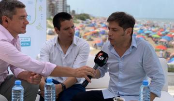 """Imagen de Junto a Cardozo, Kicillof presentó los beneficios de la Provincia para el verano: """"Será la mejor temporada en cinco años"""""""