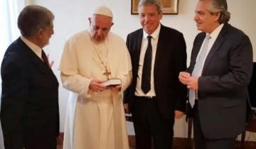 Imagen de El papa Francisco recibirá a Alberto Fernández a fin de mes en Europa