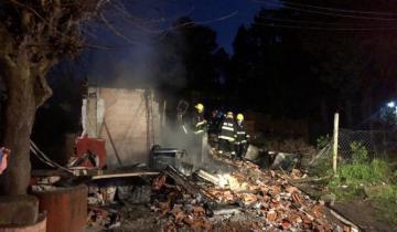 Imagen de Cinco niños murieron tras incendiarse su casa en Pilar