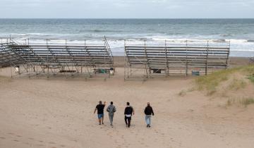 Imagen de Deportistas de todo el país llegan a La Costa para participar de los Juegos Universitarios de Playa