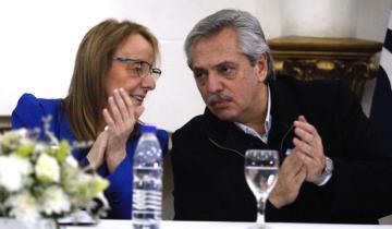 Imagen de Alberto Fernández se reunió con Alicia Kirchner en Río Gallegos
