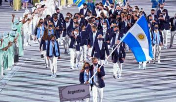 Imagen de Juegos Olímpicos Tokio 2020: cómo fue el desfile de la delegación argentina en la ceremonia inaugural