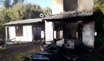 Imagen de Tercer caso en un mes: murió un hombre al incendiarse su casa en Mar del Plata