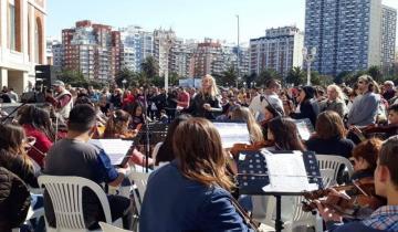 Imagen de La Orquesta Escuela de Dolores deslumbra en Mar del Plata
