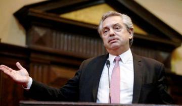 Imagen de Qué le respondió Alberto Fernández a Macri cuando el presidente apeló a San Martín para hacer campaña
