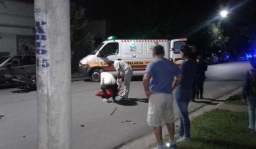 Imagen de Un herido es el saldo de un accidente en Dolores