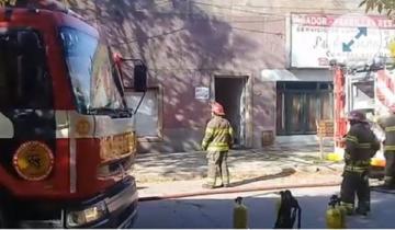 Imagen de Se produjo un incendio en un emblemático Hotel y Bar de General Madariaga