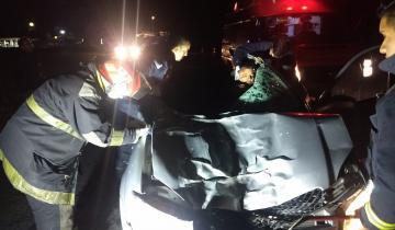 Imagen de Un hombre fue herido de gravedad tras impactar contra un caballo en la Ruta 11