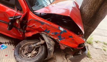 Imagen de Dolores: un fuerte accidente dejó el saldo de cuatro personas heridas
