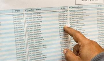 Imagen de Ya está habilitado el padrón para consultar lugares de votación