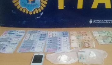 Imagen de Secuestraron más de 90 dosis de cocaína en un operativo en Chascomús