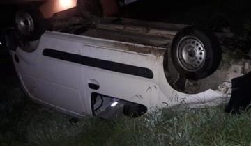 Imagen de Fuerte vuelco en la Ruta 88: dos policías resultaron heridas