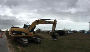 Imagen de Ruta 11: Comenzaron los trabajos en el nuevo acceso a Santa Teresita