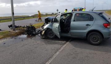 Imagen de Un policía falleció tras un accidente en la ruta 11