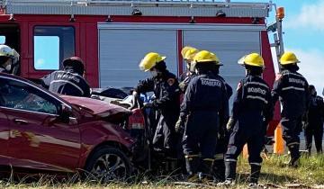 Imagen de Accidente en la Ruta 11: dos personas murieron tras un choque frontal entre dos autos