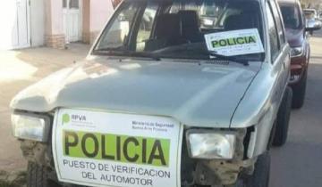 Imagen de Un dolorense fue a realizar la verificación policial y el vehículo tenía pedido de secuestro
