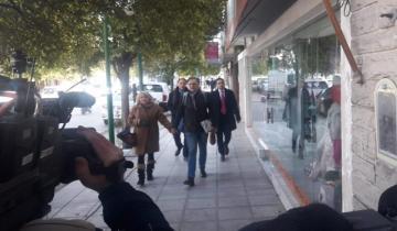 Imagen de Daniel Santoro llegó a Dolores para declarar como imputado ante el juez Ramos Padilla