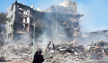 Imagen de Cómo quedó la manzana del incendio en Mar del Plata: 47 viviendas destruidas y cerca de 150 evacuados