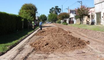 Imagen de Dolores: Anuncian 50 nuevas cuadras de pavimento en distintos barrios