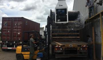 Imagen de Se realizó la primera exportación de granos desde Madariaga hacia EE.UU.