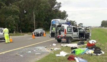 Imagen de Ocho heridos tras un vuelco en la Ruta 2