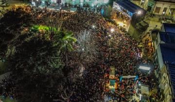 Imagen de Fiesta por los 202 años de Dolores: una multitud acompañó en el cuarto y último día