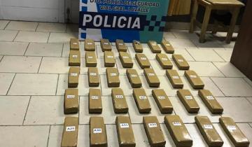 Imagen de Quiso entrar a La Costa con 41 panes de marihuana: lo descubrió el control de la Municipalidad y terminó detenido