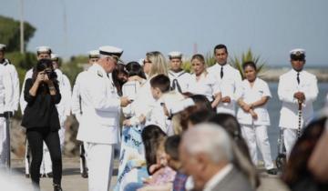 Imagen de ARA San Juan: sin Macri, Aguad ni Arroyo, recordaron a los submarinistas