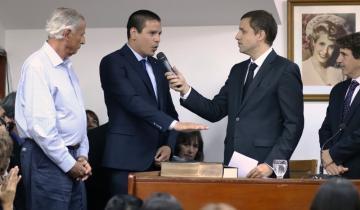 Imagen de Cristian Cardozo juró como el nuevo intendente del Partido de La Costa