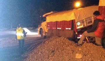 Imagen de Secuestraron tres camiones en Rauch: transportaban más del doble permitido