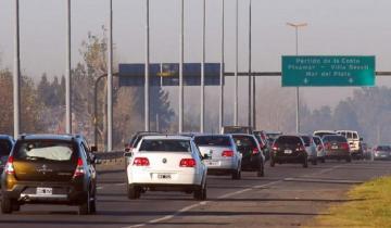 Imagen de Semana Santa: ya es intenso el tránsito de la Autovía 2 y la Ruta 11 hacia la Costa Atlántica