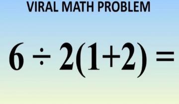 Imagen de El cálculo matemático que es viral y genera discusión: ¿da 1 ó 9?