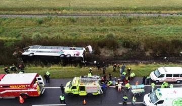 Imagen de Accidente en la Ruta 2: dos niños de 3 y 6 años pelean por su vida