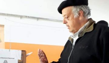 Imagen de Rodríguez Ponte votó en Lavalle en búsqueda de su reelección
