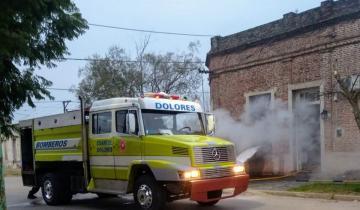 Imagen de Se produjo un incendio en una vivienda de Dolores