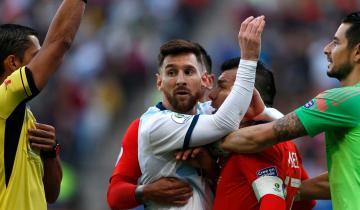 Imagen de La AFA envió a la Conmebol una disculpa de Lionel Messi