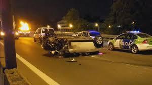 Imagen de Choque y vuelco de un camión y un auto: un muerto y un detenido